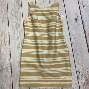 Primary Photo - BRAND: BANANA REPUBLIC STYLE: DRESS SHORT SLEEVELESS COLOR: SAND SIZE: 8 OTHER INFO: NEW! SKU: 257-257183-817