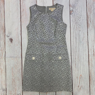 Primary Photo - BRAND: MICHAEL BY MICHAEL KORS STYLE: DRESS SHORT SLEEVELESS COLOR: ANIMAL PRINT SIZE: XS OTHER INFO: GREY AND WHITE SKU: 257-25797-357