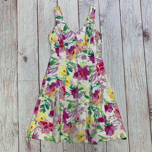 Primary Photo - BRAND: CHAPS STYLE: DRESS SHORT SLEEVELESS COLOR: FLORAL SIZE: M OTHER INFO: PINK AND PURPLE FLORALS SKU: 257-257194-1829