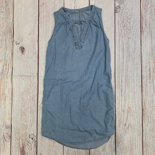 Primary Photo - BRAND: OLD NAVY STYLE: DRESS SHORT SLEEVELESS COLOR: DENIM BLUE SIZE: XS SKU: 257-25774-16517