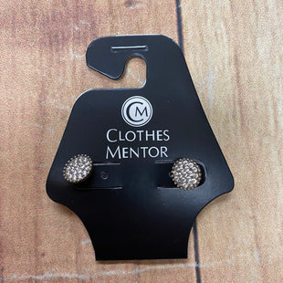 Primary Photo - BRAND:  CMF STYLE: EARRINGS COLOR: SILVER OTHER INFO: CIRCULAR WITH SPARKLES SKU: 257-257103-1466