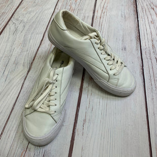 Shoes Athletic By Madewell  Size: 6 - BRAND: MADEWELL STYLE: SHOES ATHLETIC COLOR: WHITE SIZE: 6 SKU: 257-25758-560