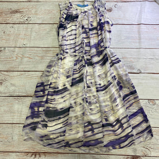 Primary Photo - BRAND: SIMPLY VERA STYLE: DRESS SHORT SLEEVELESS COLOR: PURPLE SIZE: PETITE   XS OTHER INFO: MARBLY SKU: 257-257100-2035