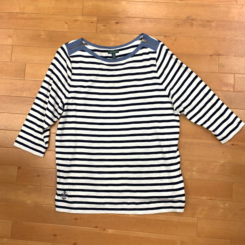 Top Long Sleeve By Lauren By Ralph Lauren  Size: 3x