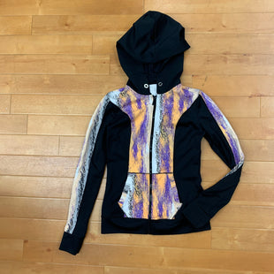 Primary Photo - BRAND: BEBE SPORT STYLE: ATHLETIC JACKET COLOR: PRINT SIZE: S OTHER INFO: BLACK/WHITE/PURPLE/ORANGE SKU: 257-257183-1314