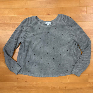 Primary Photo - BRAND:    WILD FOXSTYLE: SWEATER HEAVYWEIGHT COLOR: GREY SIZE: L OTHER INFO: WILD FOX - STAR STUDDED SKU: 257-257183-1740