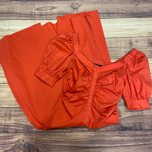 Primary Photo - BRAND: NEW YORK AND CO STYLE: DRESS SHORT SHORT SLEEVE COLOR: ORANGE SIZE: S OTHER INFO: NEW! SKU: 257-257194-2124