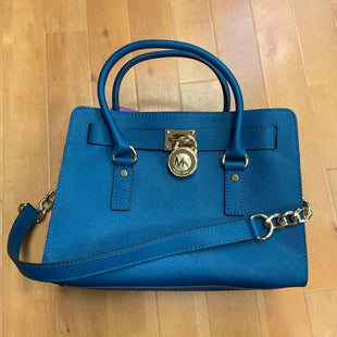 Primary Photo - BRAND: MICHAEL BY MICHAEL KORS STYLE: HANDBAG DESIGNER COLOR: TEAL SIZE: MEDIUM SKU: 257-257184-401