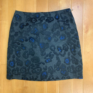 Primary Photo - BRAND: ANN TAYLOR STYLE: SKIRT COLOR: ANIMAL PRINT SIZE: 4 OTHER INFO: BLACK GRAY BLUE SKU: 217-217111-2939
