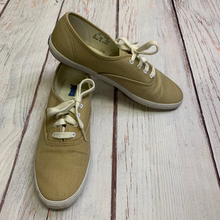 Shoes Athletic By Keds  Size: 8 - BRAND: KEDS STYLE: SHOES ATHLETIC COLOR: TAN SIZE: 8 SKU: 257-257180-1990