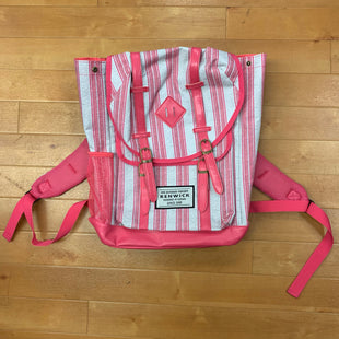Backpack By Renwick Size: Large - BRAND:   RENWICKSTYLE: BACKPACK COLOR: STRIPED SIZE: LARGE OTHER INFO: RENWICK - PINK & GREY SKU: 257-257180-1021