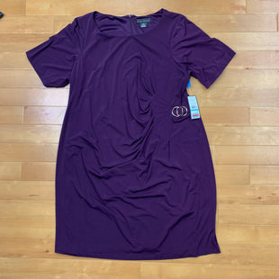 Primary Photo - BRAND: JESSICA HOWARD STYLE: DRESS SHORT SHORT SLEEVE COLOR: PURPLE SIZE: 2X SKU: 257-257194-23