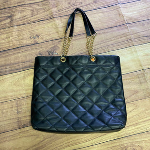 Primary Photo - BRAND: VINCE CAMUTO STYLE: HANDBAG LEATHER COLOR: BLACK SIZE: LARGE SKU: 257-25748-7156