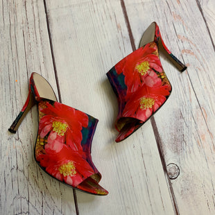 Primary Photo - BRAND: NINE WEST STYLE: SHOES HIGH HEEL COLOR: FLORAL SIZE: 7.5 OTHER INFO: SLIP ONS SKU: 257-257100-775