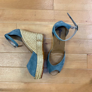 Primary Photo - BRAND: GAIMO ESPADRILLESSTYLE: SHOES HIGH HEEL COLOR: LIGHT BLUE SIZE: 8 OTHER INFO: GAIMO ESPADRILLES - WEDGE HEEL SKU: 257-25774-13957