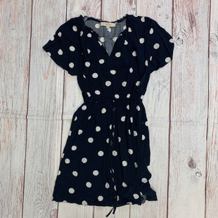 Primary Photo - BRAND: LOFT STYLE: DRESS SHORT SHORT SLEEVE COLOR: POLKADOT SIZE: XS OTHER INFO: WHITE DOTS ON NAVY SKU: 257-257194-1471
