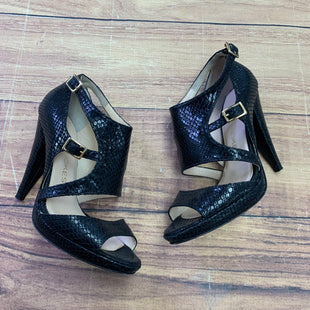 Primary Photo - BRAND:   COYE NOKESSTYLE: SHOES HIGH HEEL COLOR: BLACK SIZE: 6 OTHER INFO: COYE NOKES - SNAKESKIN DESIGN SKU: 257-25797-1635
