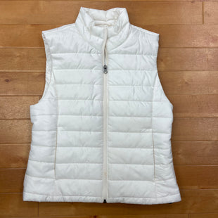 Primary Photo - BRAND: ANN TAYLOR O STYLE: VEST DOWN COLOR: CREAM SIZE: S OTHER INFO: SLIGHT STAINING SKU: 257-25786-5355