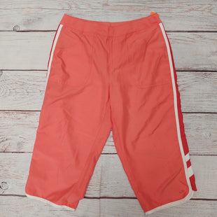 Primary Photo - BRAND: CHAMPION STYLE: ATHLETIC CAPRIS COLOR: PEACH SIZE: S OTHER INFO: WHITE STRIPES ON SIDES SKU: 257-257103-356