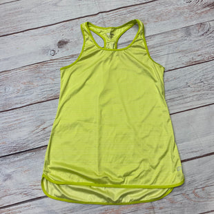 Primary Photo - BRAND: SPALDING STYLE: ATHLETIC TANK TOP COLOR: CHARTREUSE SIZE: S SKU: 257-25748-7539