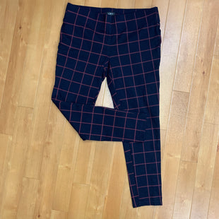 Primary Photo - BRAND: LOFT STYLE: PANTS COLOR: PLAID SIZE: L OTHER INFO: RED/NAVY SKU: 257-257184-363