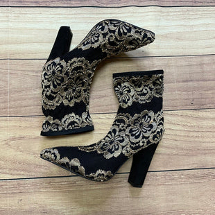 Primary Photo - BRAND: BAMBOO STYLE: BOOTS ANKLE COLOR: BLACK SIZE: 8 OTHER INFO: GOLD EMBROIDERY SKU: 257-25748-6282