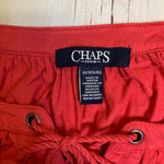 Top Long Sleeve By Chaps  Size: 1x - BRAND: CHAPS <BR>STYLE: TOP LONG SLEEVE <BR>COLOR: CORAL <BR>SIZE: 1X <BR>OTHER INFO: NEW! <BR>SKU: 257-25774-16339