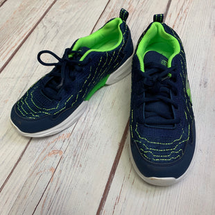 Shoes Athletic By Skechers  Size: 7 - BRAND: SKECHERS STYLE: SHOES ATHLETIC COLOR: BLUE GREEN SIZE: 7 SKU: 257-25748-5561