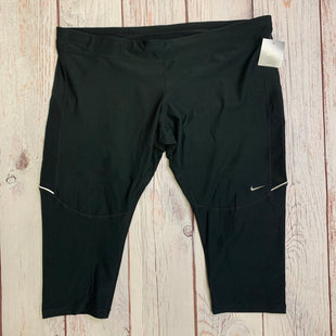 Athletic Capris By Nike Apparel  Size: 3x - BRAND: NIKE APPAREL STYLE: ATHLETIC CAPRIS COLOR: BLACK SIZE: 3X OTHER INFO: NEW! SKU: 257-25786-5326