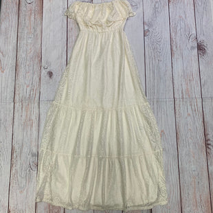 Primary Photo - BRAND: ALLEN B STYLE: DRESS LONG SLEEVELESS COLOR: CREAM SIZE: S SKU: 257-25774-16518