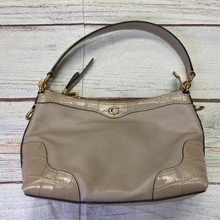 Primary Photo - BRAND: COACH STYLE: HANDBAG DESIGNER COLOR: TAUPE SIZE: SMALL OTHER INFO: EAST/WEST IVIE RT 378 SKU: 257-25748-8416