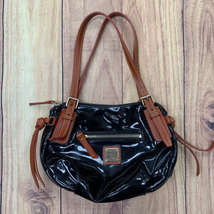 Primary Photo - BRAND: DOONEY AND BOURKE STYLE: HANDBAG DESIGNER COLOR: BLACK SIZE: SMALL OTHER INFO: PATENT SKU: 178-178160-14033