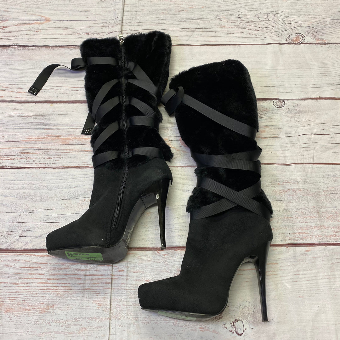 Primary Photo - BRAND: NINA <BR>STYLE: BOOTS KNEE <BR>COLOR: BLACK <BR>SIZE: 8 <BR>SKU: 257-25797-240