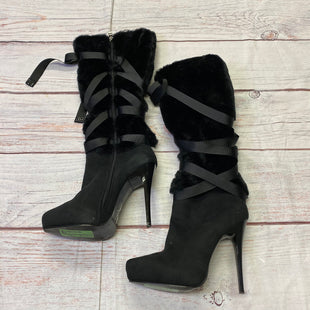 Primary Photo - BRAND: NINA STYLE: BOOTS KNEE COLOR: BLACK SIZE: 8 SKU: 257-25797-240