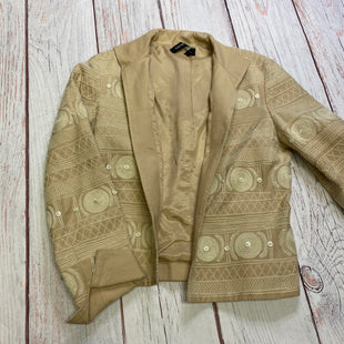 Primary Photo - BRAND: ANNE KLEIN STYLE: BLAZER JACKET COLOR: TAN SIZE: PETITE   SMALL OTHER INFO: 4 SKU: 217-217114-21444