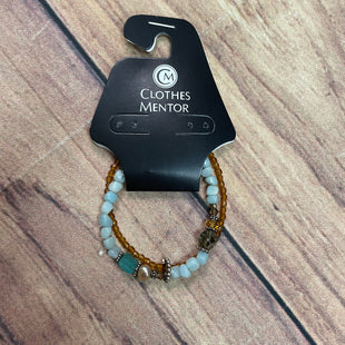 Primary Photo - BRAND:    CLOTHES MENTOR STYLE: BRACELET COLOR: BLUE OTHER INFO: BLUE/BROWN SKU: 257-25748-4754