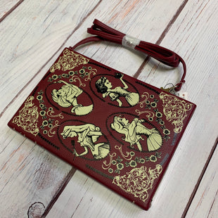 Primary Photo - BRAND: DISNEY STORE STYLE: CLUTCH COLOR: MAROON OTHER INFO: NWT SKU: 257-25758-541