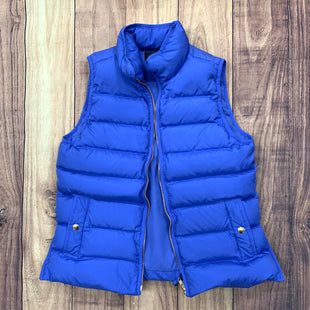 Primary Photo - BRAND: J CREW STYLE: VEST DOWN COLOR: PERIWINKLE SIZE: S SKU: 257-257100-637