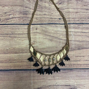 Primary Photo - BRAND: J CREW STYLE: NECKLACE COLOR: GOLD OTHER INFO: BLACK SKU: 257-25774-12999