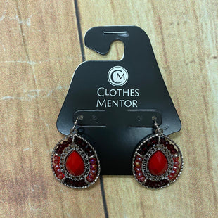 Primary Photo - BRAND:  CMF STYLE: EARRINGS COLOR: RED OTHER INFO: LIGHT AND DARKL RED SKU: 257-257103-1453
