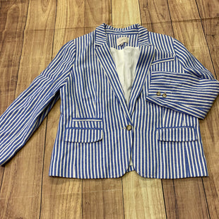 Primary Photo - BRAND: ANN TAYLOR LOFT STYLE: BLAZER JACKET COLOR: BLUE WHITE SIZE: XL OTHER INFO: SIZE 14 SKU: 257-25748-5897