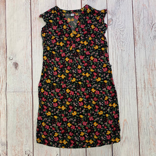 Primary Photo - BRAND: OLD NAVY STYLE: DRESS SHORT SLEEVELESS COLOR: FLORAL SIZE: XS OTHER INFO: BLACK/MAROON/GREEN/WHITE/YELLOW SKU: 257-25774-16520