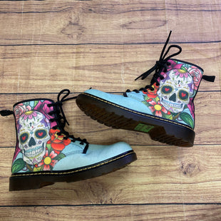 Primary Photo - BRAND: N/ASTYLE: BOOTS ANKLE COLOR: TEAL SIZE: 7 OTHER INFO: SUGAR SKULL SKU: 257-25748-8324