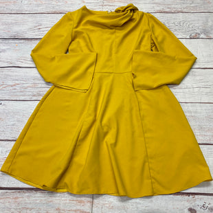 Primary Photo - BRAND: ASOS STYLE: DRESS SHORT LONG SLEEVE COLOR: YELLOW SIZE: S OTHER INFO: SHOULDER KNOT SKU: 257-257194-2318