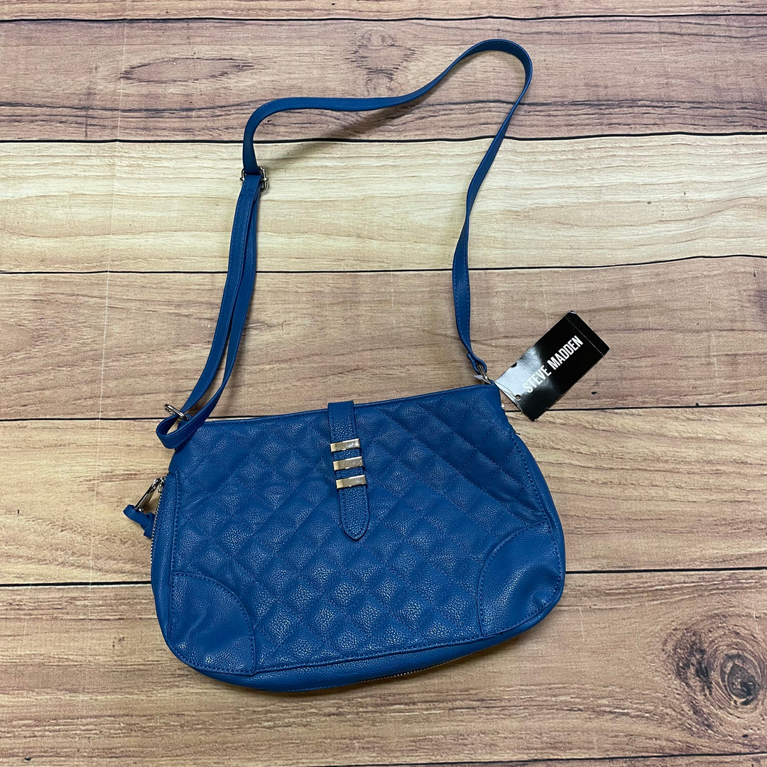 Primary Photo - BRAND: STEVE MADDEN <BR>STYLE: HANDBAG <BR>COLOR: BLUE <BR>SIZE: MEDIUM <BR>SKU: 257-25748-6468