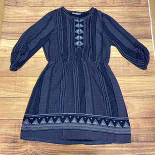 Primary Photo - BRAND: DANIEL RAINN STYLE: DRESS SHORT LONG SLEEVE COLOR: NAVY SIZE: L SKU: 257-25758-1056