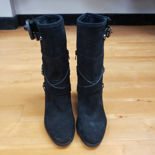 Primary Photo - BRAND:  CME STYLE: BOOTS ANKLE COLOR: BLACK SIZE: 6.5 OTHER INFO: CHROMA VINTAGE - BLACK SUEDE SKU: 257-257184-230