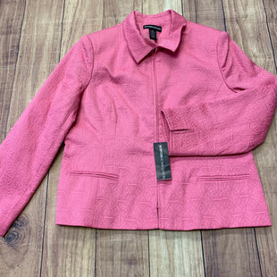 Primary Photo - BRAND:    CLOTHES MENTOR STYLE: BLAZER JACKET COLOR: PINK SIZE: XL OTHER INFO: NORTON MCNAUGHTON - NEW! SKU: 257-25786-5504