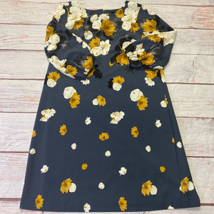 Primary Photo - BRAND: ANN TAYLOR LOFT STYLE: DRESS SHORT LONG SLEEVE COLOR: SLATE BLUE SIZE: L OTHER INFO: NEW! YELLOW/WHITE FLOWERS SKU: 257-257100-2097