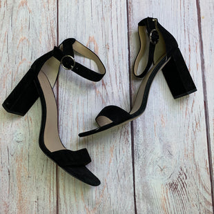 Primary Photo - BRAND: ANN TAYLOR STYLE: SHOES HIGH HEEL COLOR: BLACK SIZE: 11 OTHER INFO: ANKLE STRAP/OPEN TOE DESIGN SKU: 257-25748-2801
